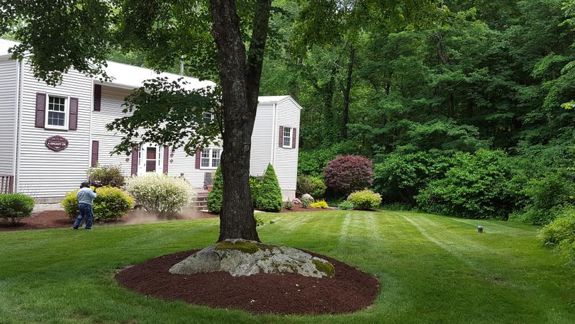 Commercial landscaping, Coventry, CT