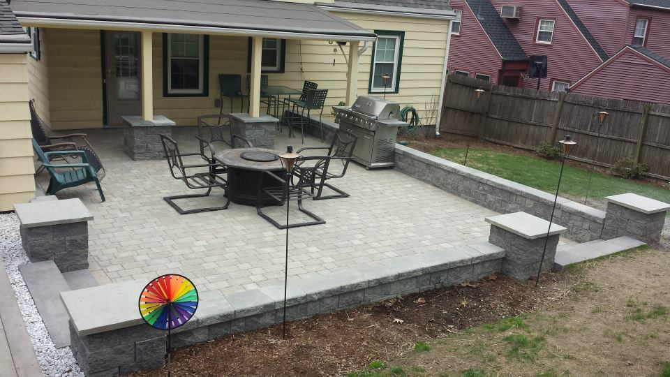 Patio design and construction by Century Oaks Landscaping