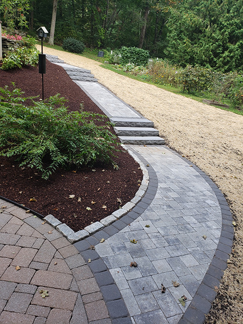 Residential walkway installation