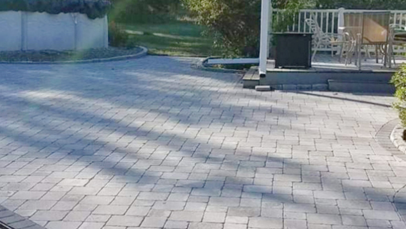 CT landscape patio design