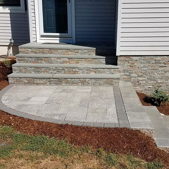 Century Oaks - CT steps and walkway Design and Installation