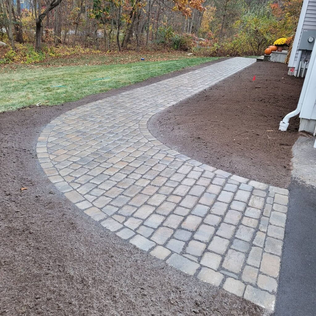 CT walkway landscape design